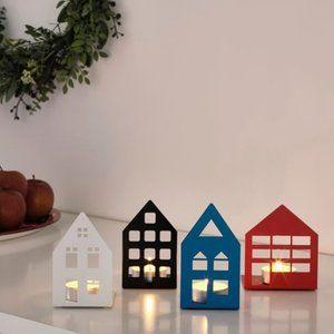 IKEA Vinterfest House Tealight Holders